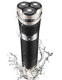Máquinas de barbear eléctricas Homens 100V-240V Impermeável Carregamento Rápido Lavável Indicador de carga Design Portátil LED