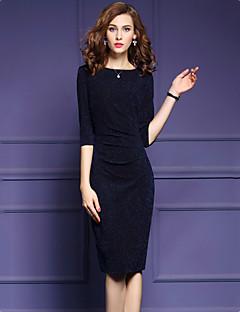 f9899c49587f Γυναικείο Μεγάλα Μεγέθη Εξόδου Απλό Εφαρμοστό Φόρεμα
