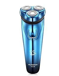 flyco fs336 rasoir électrique rasoir bleu charge rapide lavable 100-240v