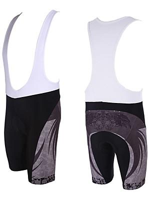 KOOPLUS® מכנס קצר ביב לרכיבה לגברים אופניים נושם / ייבוש מהיר מכנסיים קצרים עם כתפיות / מכנסיים קצרים / תחתיות פוליאסטר אביב / קיץרכיבה