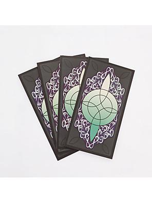 Mais Acessórios Inspirado por Final Fantasy Ace Anime/Games Acessórios de Cosplay Cartão Verde Papel Masculino