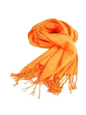 Přehozy přes ramena šály Imitace kašmíru Oranžová Párty a večerní akce