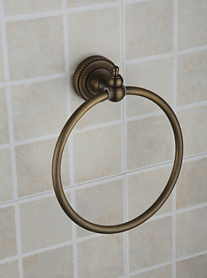 Towel Ring Antique Bronze Wall Mounted 21*18.5*6.5 Brass Antique