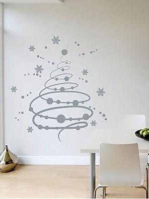 Christmas Snow Flakes Wall Sticker