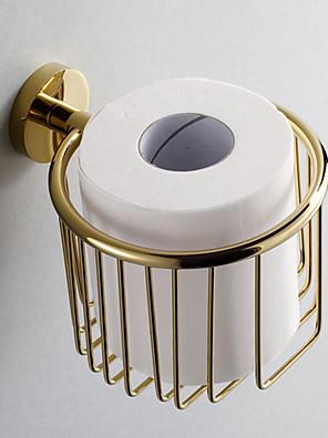 Arany Fürdőszoba kiegészítők Brass WC papír tartó