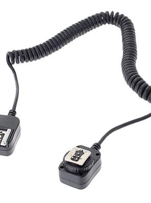vakut zseblámpa 580EX 430EX csatlakozó kábel a Canon EOS 7D 6d 5D III 70d 60d 700D 650D DSLR fényképezőgép - fekete (360cm)