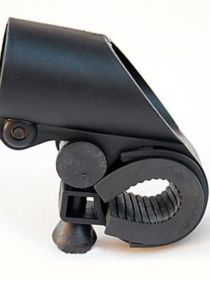 Tvar pistole Black ABS Bike svítilna Clip (adaptabilní na řídítka o průměru 2,7 cm v)