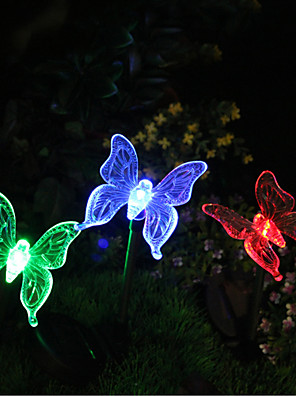 Zonne-Color Changing Vlindertuin Stake licht (cis-57254B)