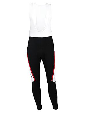 KOOPLUS® Calças Para Ciclismo Homens Moto Respirável / Mantenha Quente / Forro de Velocino / Permeável á Humidade / VestívelMeia-calça /