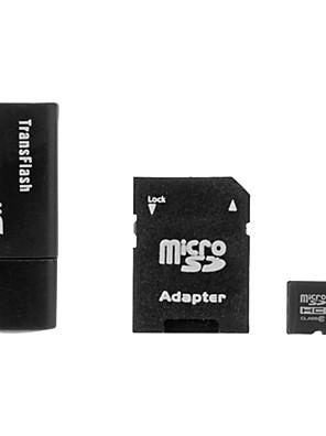 16GB class 6 microSDHC TF paměťová karta SDHC s SD adaptérem a USB čtečka