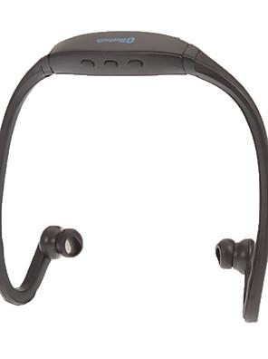 auscultadores Bluetooth gancho com microfone, esportes com cancelamento de ruído para telefone celular