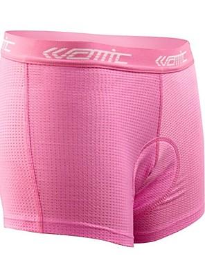 SANTIC® תחתוניות לרכיבה לנשים אופניים נושם / חדירות ללחות / 3D לוח מכנסיים קצרים הלבשה תחתונה / שורטים (מכנסיים קצרים) מרופדים / תחתיות