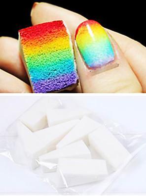 8PCS Professional Manicure Sponge Nail Art Tools for Gradient Color Nail Art&Mulit-color Nail