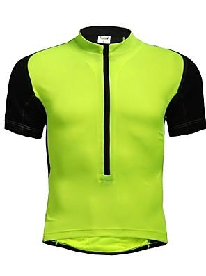 JAGGAD® Camisa para Ciclismo Mulheres / Homens / Unissexo Manga Curta Moto Respirável / Secagem Rápida Camisa/Fietsshirt / Blusas