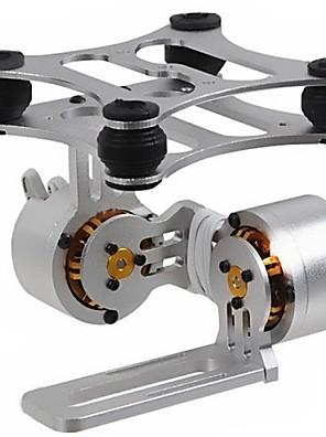 2 ציר האלומיניום Brushless המצלמה ההר gimbal עם מנועים לGopro3 DJI פנטום