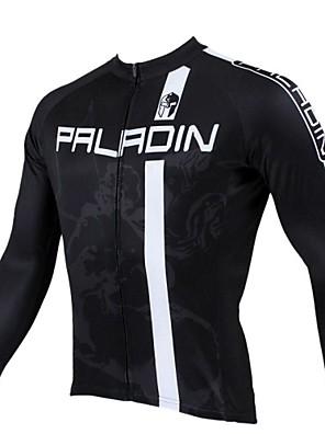 PALADIN® Cyklodres Pánské Dlouhé rukávy Jezdit na kole Prodyšné / Zahřívací / Rychleschnoucí / Odolný vůči UV zářeníDres / Vrchní část