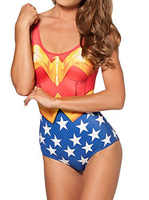 Wonder Woman Spandex Women's Swimsuit