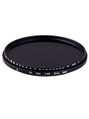 Nový 62mm Slim Fader Variable ND filtr nastavitelný ND2 na ND400 Neutral Density Doprava zdarma