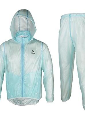 Arsuxeo® Cyklo bunda a kalhoty Unisex Dlouhé rukávy Jezdit na kole Voděodolný / Rychleschnoucí / Odolné vůči prachu / Antistatický