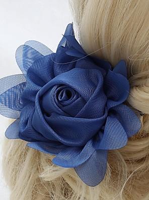נשים / נערת פרחים שיפון כיסוי ראש-חתונה / אירוע מיוחד / חוץ פרחים