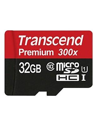 felülemelkednek prémium mikro SDXC TF flash memória kártya - fekete (32GB)