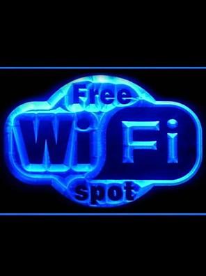 כניסה Wi-Fi ספוט פרסום אור LED חינם