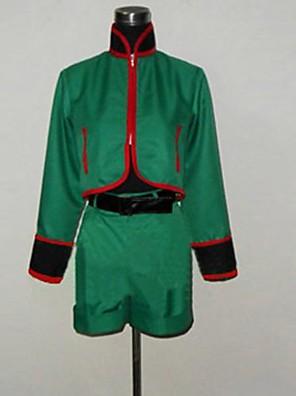 Inspirovaný Hunter X Hunter Gon. Freecss Anime Cosplay kostýmy Cosplay šaty Patchwork Zielony Dlouhé rukávy Vrchní deska / Kalhoty / Pásek