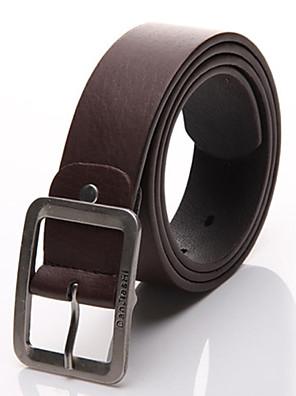 Mænd koreanske Fashion Buckle Belt
