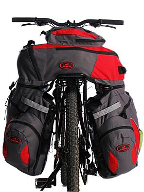 Acacia® Cyklistická taška 60LKufr na kola/Brašna na koš / Cyklistika Backpack Reflexní pásek / 3 v 1 Taška na kolo Polyester Taška na kolo