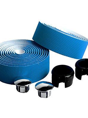 Moto Guiador Tape Azul Fibra de Carbono / PU 1 pair(2 Pcs)-NUCKILY