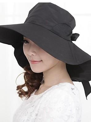 Для женщин Для женщин На каждый день Шляпа от солнца,Полиэстер,Лето