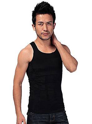 homens shaper emagrecimento colete tanque apertado underwear abdômen desenho edição esportes respirável ny082 negros