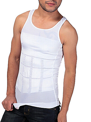 homens shaper emagrecimento colete tanque apertado underwear abdômen desenho edição esportes respirável ny082 brancos