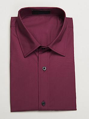 camisa de manga curta vermelha