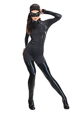 חליפות Zenta גיבורי על תחפושות משחק של דמויות מסרטים שחור טלאים חליפת חתול האלווין (ליל כל הקדושים) / חג המולד / ראש השנה נקבה