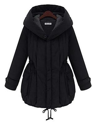 barsel mode indgået tyk varm lang frakke