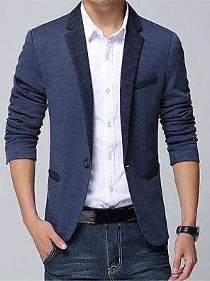 Men's Pure Color Fashion Leisure Suit