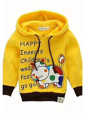 Boy's Cotton / Cotton Blend / Fur Hoodie & Sweatshirt,Spring / Fall