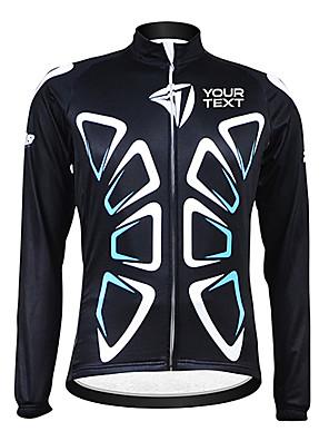 KOOPLUS® ג'קט לרכיבה לנשים / לגברים / יוניסקס שרוול ארוך אופנייםנושם / שמור על חום הגוף / עמיד / בטנת פליז / רוכסן עמיד למים / לביש /