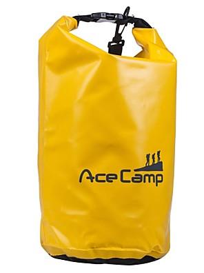 10L L עמיד למים יבשים תיק / חבילת דחיסה מחנאות וטיולים / דיג / טיפוס / חוף / לטייל טבעעמיד למים / ייבוש מהיר / מוגן מגשם / רוכסן עמיד