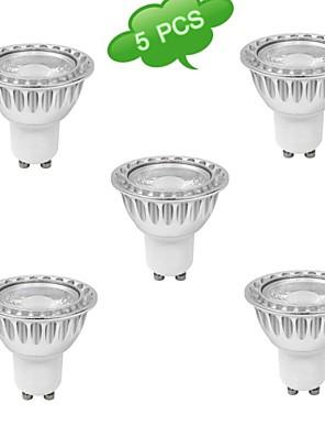 5W GU10 Spot LED MR16 1 COB 720 lm Blanc Chaud Gradable AC 100-240 V