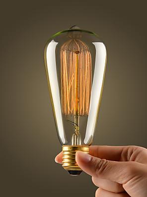 フィラメント電球レトロヴィンテージ工業用白熱40ワット