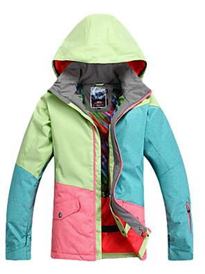 Ao ar livre Mulheres Jaquetas de Esqui/Snowboard / Jaqueta Feminina / Jaqueta de Inverno Esqui / Skate / Esportes de Neve / Snowboard