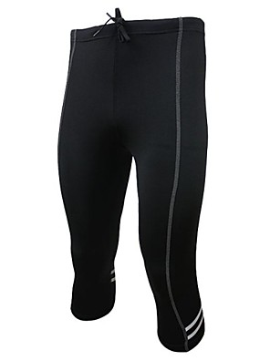 Arsuxeo® מכנסי רכיבה לגברים אופניים נושם / ייבוש מהיר / חומרים קלים / כיס אחורי / מכפלת עם מחזיר אורטייץ רכיבה על אופניים / מכנסיים /