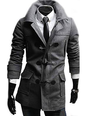 moda casual britânico casaco grande quintal