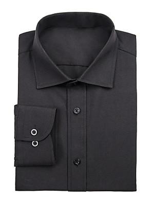 černé bavlněné tričko solidní