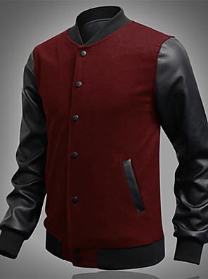 huizi mænds afslappet splejsning langærmet frakke
