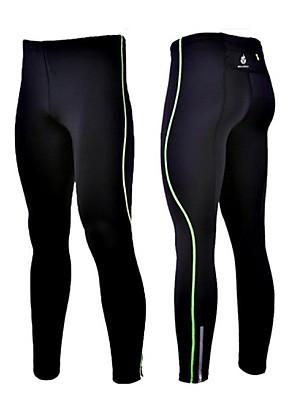 WOLFBIKE® Cyklo kalhoty Pánské Komprese / Reflexní pásky / Streç Jezdit na kole Cyklistické kalhoty / Kompresní Suit / Kalhotyelastan /