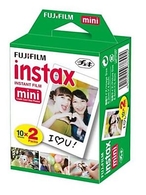 20 Fujifilm Instax mini-pacote branco instante twin-filme