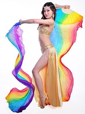 Taneční příslušenství Jevištní doplňky Dámské Výkon / Trénink Hedvábí H78.8inch*W15.8inch